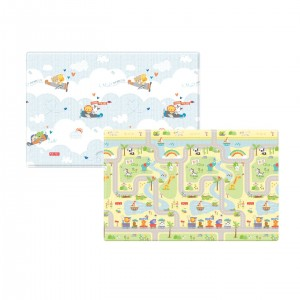 Fisher Price 軟遊戲地墊 (Smile Road + Flying)