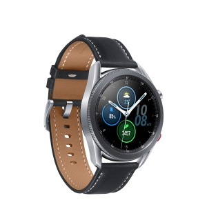 Samsung Galaxy Watch3 不鏽鋼 (45mm, LTE 版本) (亮光銀)