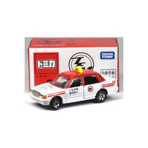 TOMICA 會場合金車No. 02 Toyota Crown Taxi