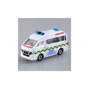 TOMICA 會場合金車No. 05 Nissan NV350 Caravan Ambulance